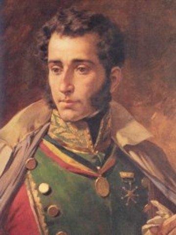 José de Sucre aplasta tropas
