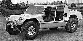 Lamborghini Cheetah: 5.9L Chrysler V8 185BHP