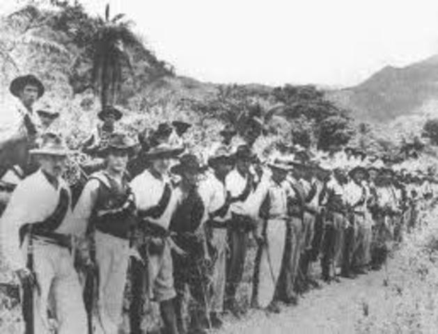 Organizan guerrillas en los llanos