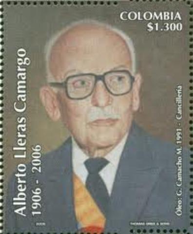 Alberto Lleras Camargo es elegido Presidente de la República,