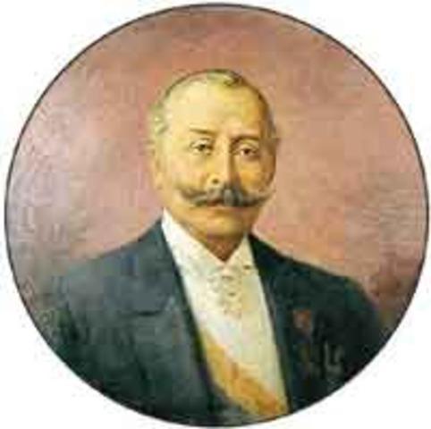 El general Rafael Reyes toma posesión de la Presidencia.