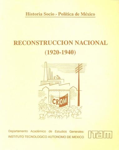 Movimiento de reconstruccion nacional