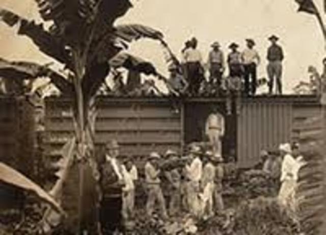 Matanza trabajadores Zona Bananera