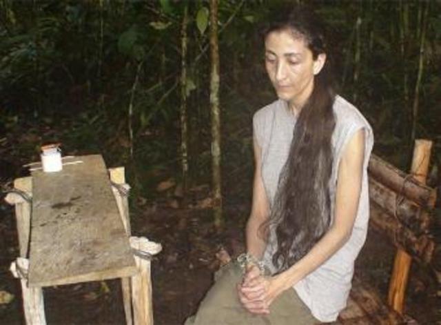 Secuestrada Ingrid Betancourt