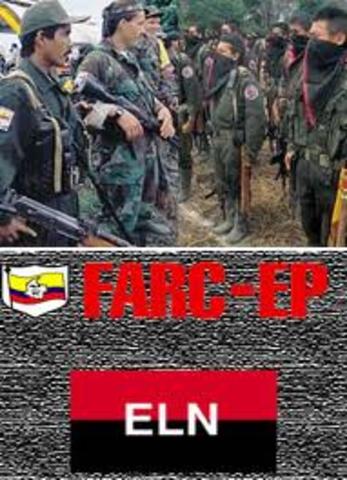 Surgimiento de las FARC y el ELN