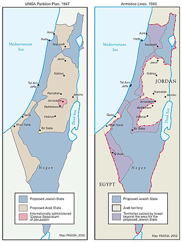 700,000 Palestinians Become Refugees