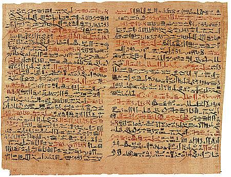 papiro Edwin Smith Y el papiro Ebers