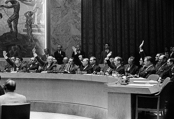 Espanya entra a l'ONU