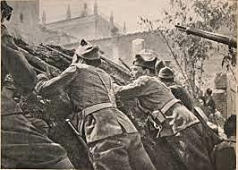 Liberación de los rebeldes asediados en el Alcázar de Toledo.