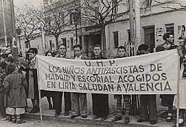 Traslado del gobierno de Largo Caballero a Valencia.