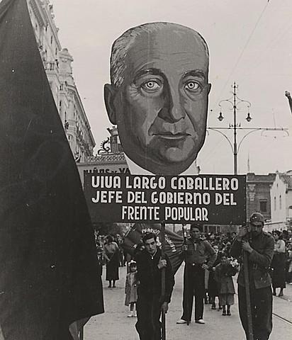 EL GOBIERNO DE LARGO CABALLERO SE TRASLADA A VALENCIA REPELIDO POR LA JUNTA DE DEFENSA