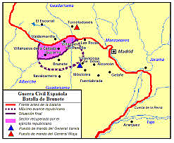 Batalla de Brunete.