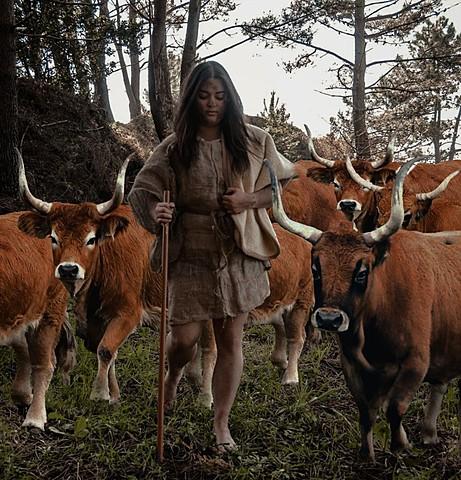 Elba, a pastora galega do Mesolítico