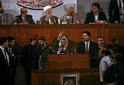 PNC Proclaims Establishment of a Palestinian State