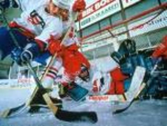 hockey beatdown