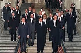 Israel Enters Direct Negotiations with Syria, Lebanon, Jordan, Palestinians