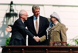 Oslo Peace Accord Signed by Israel and PLO