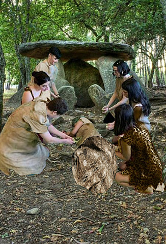 Enterro neolítico