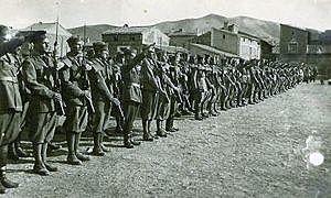 Primeros soldados italianos