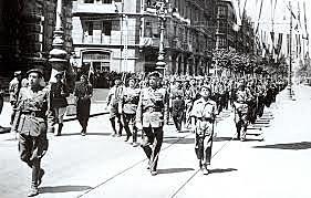 Toma de Bilbao por Franco