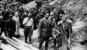 Caída del Norte en manos de Franco