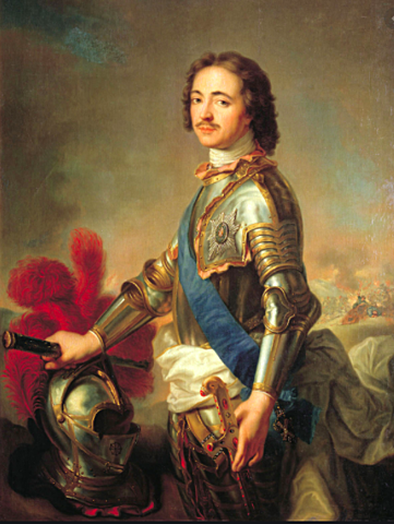 Tsar Peter the Great commissioned a naval expedition to explore Pacific Waters north east of Kamchatka.