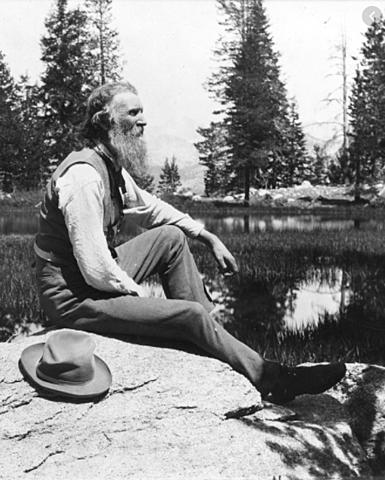 John Muir went to Alaska