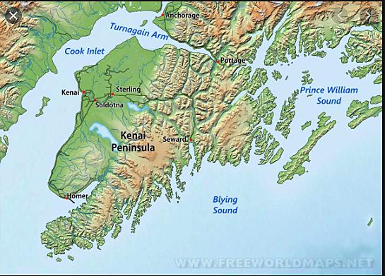 Peter Doroshin discovered small deposits of gold on Alaska's Kenai Peninsula