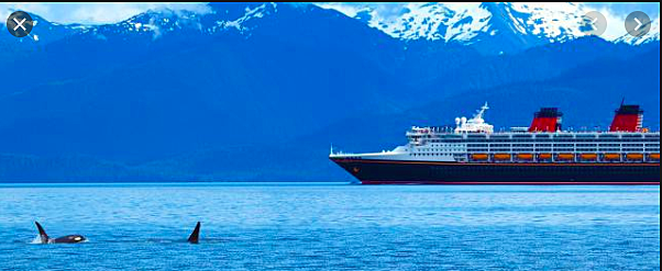 5,000 visitors sailed the Inside Passage