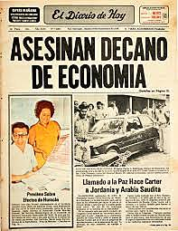 Asesinato de Decano Dr. Carlos A. Rdríguez