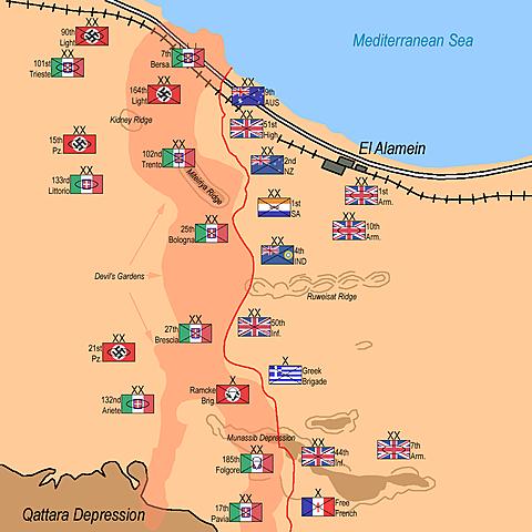 Segona Batalla d'El Alemein