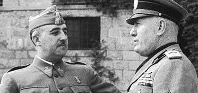 Los Italianos de Mussolini ayudan a las fuerzas franquistas