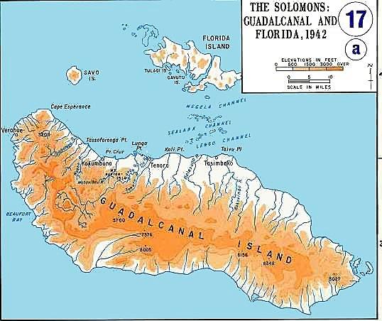 Desembarcació nord-americana a Guadalcanal i Tulagi