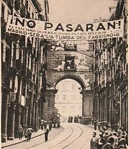 Tropas franquistas entran en Madrid