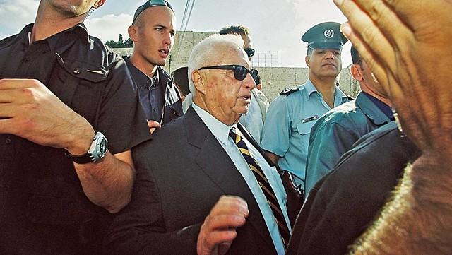 Israeli PM Sharon Announces Gaza Withdrawal
