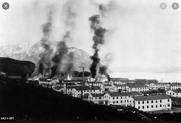 The Japanese attacked Dutch Harbor, Alaska.