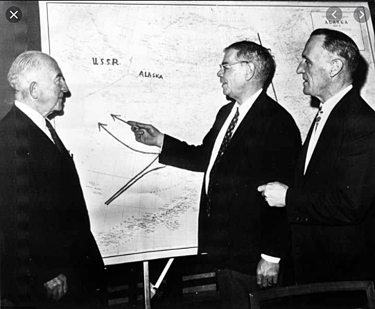 Bartlett and Gruening were the powerful advocates of the Alaska statehood fight