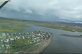 The 2000 US census began in Unalakleet, Alaska