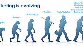 EVOLUCIÓN DE MARKETING Y SUS ENFOQUES  timeline