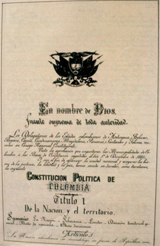 La Constitucion de 1832