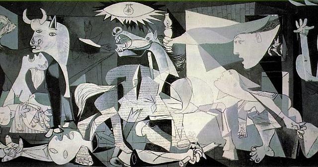 La ciudad vasca de Guernica sufre un brutal bombardeo el día 26 a cargo de la Legión Cóndor.