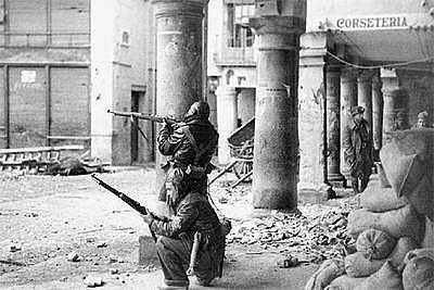 Los franquistas recuperan Teruel y avanzan hasta el mediterraneo