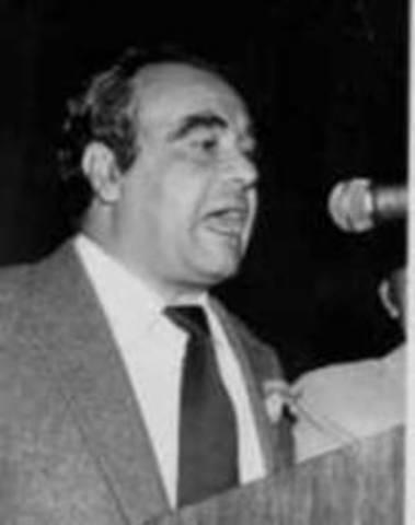 Es asesinado en Bogotá el candidato de la Unión Patriótica, Jaime Pardo Leal.