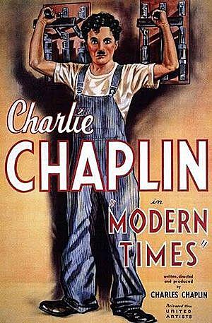 TIEMPOS MODERNOS (Charles Chaplin)