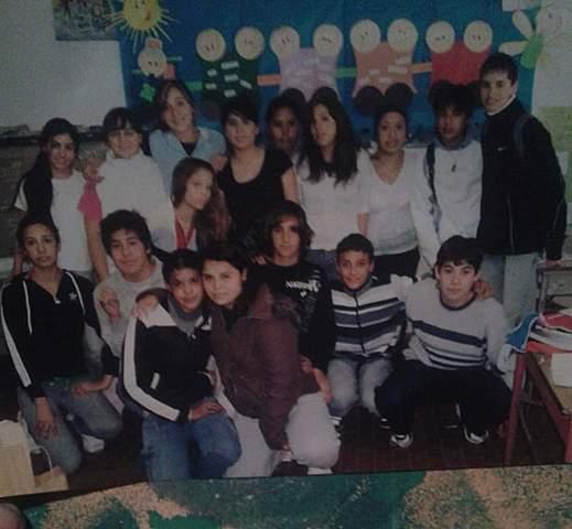 Con mis compañeros de 1er año