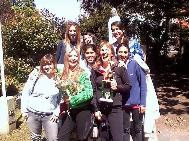 Campeonas marplatenses en Handball