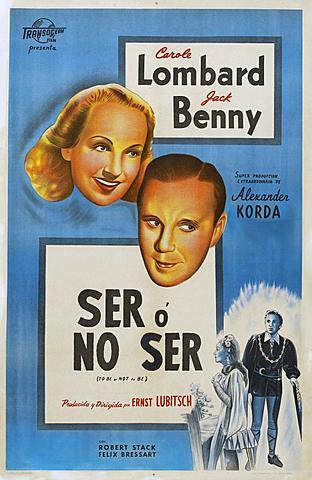 SER O NO SER (Ernst Lubitsch)