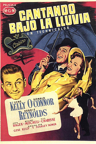 CANTANDO BAJO LA LLUVIA (Gene Kelly y Stanley Donen)