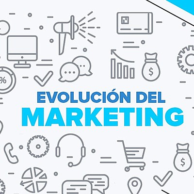 EVOLUCIÓN DE MARKETING timeline