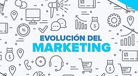 EVOLUCIÓN DE MARKETING timeline